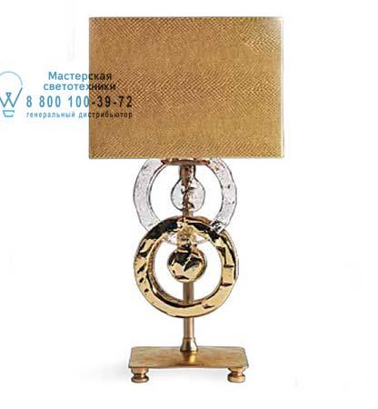Eurolampart 2476/01BA настольная лампа RINGS 2476/01BA золотой