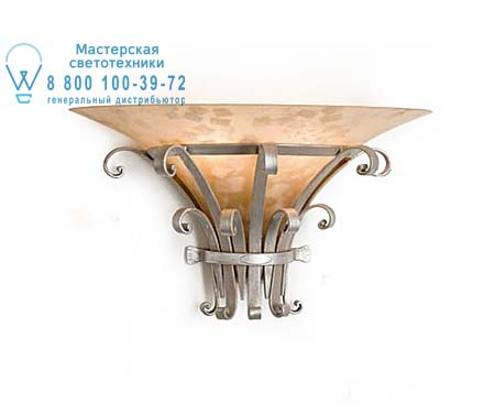 Eurolampart MITO 4431/02AP серебристо-кремовый 4431/02AP