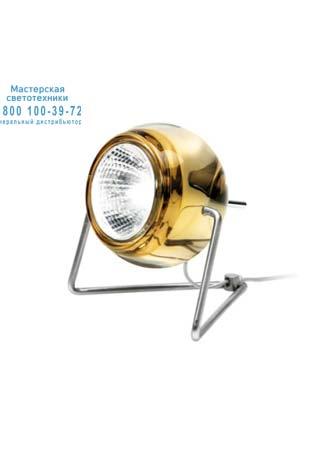 Beluga Colour Желтый, настольная лампа Fabbian D57 B03 04
