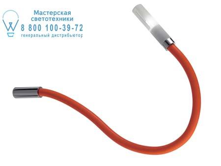 Fabbian D63 G01 32 потолочная люстра Snake Красный