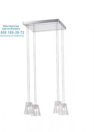 Vicky Прозрачный, подвесной светильник Fabbian D69 A07 00