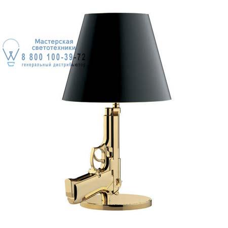 Flos Bedside Gun Глянцевое золото F2953000