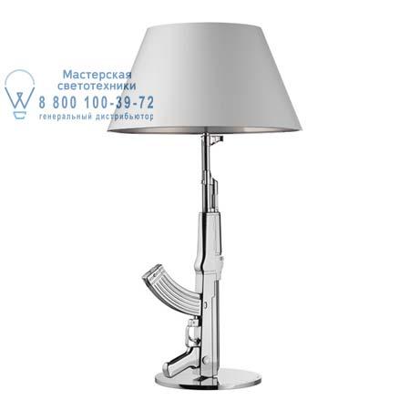 Table Gun Хром, настольная лампа Flos F2954057