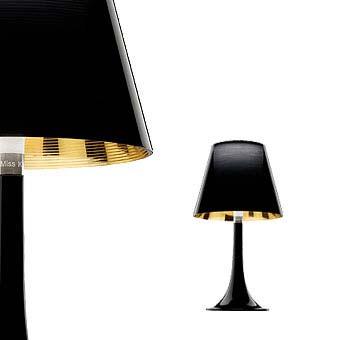 Flos F6255030 настольная лампа MISS Черный