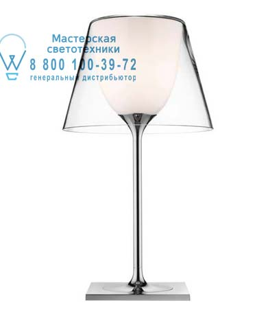 Flos F6262000 торшер KTRIBE T1 GLASS SWITCH Прозрачный белый