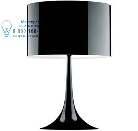 SPUN LIGHT T1 Черный, настольная лампа Flos F6610030