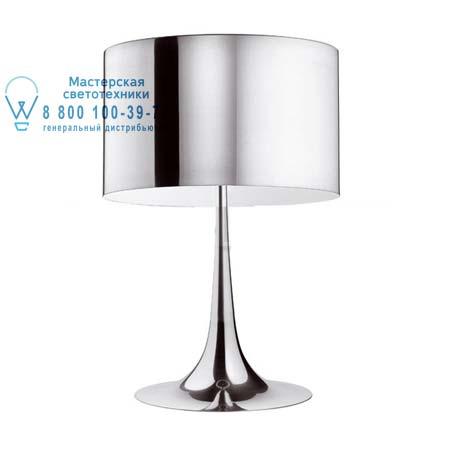 SPUN LIGHT T2 Алюминий, настольная лампа Flos F6611050