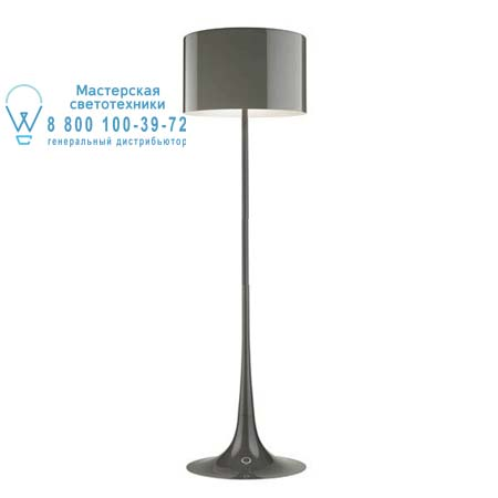Flos F6613021 торшер SPUN LIGHT F ECO Темно-серый