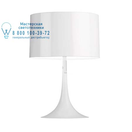 Flos F6614009 настольная лампа SPUN LIGHT T1 ECO Белый
