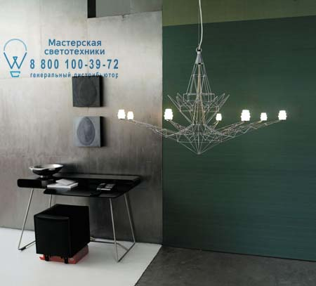 Foscarini LIGHTWEIGHT H. 5 m анодированный металл 064007SP5 ZI