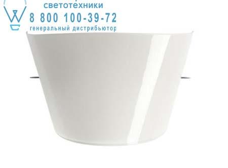 Foscarini 114005I 11 TITU (halogen/ leuchtstoff E14) белый глянцевый