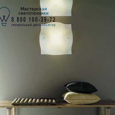 123005 10 (PArete) Foscarini MANTA большой белый светильник (halogen/leuchtstof E27)