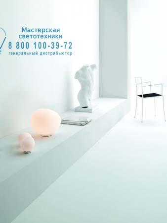 Foscarini 1680012 10 настольная лампа GREGG малый белый светильник