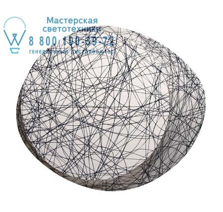 Foscarini 1720051E I бра WAGASHI большой светильник в мелкую полоску (halogen E27)