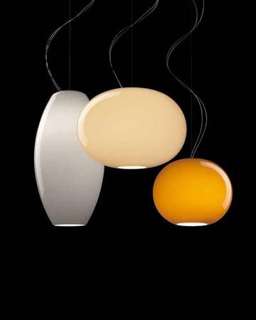 Foscarini 1780071 25SP5 подвесной светильник NEW BUDS 1 H 5 m, серый