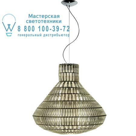 Foscarini 179071 50 SP5 подвесной светильник TROPICO BELL цвета слоновой кости H. 5 m