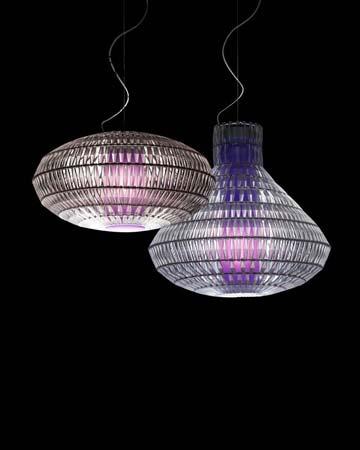 TROPICO ELLIPSE цвета льда, подвесной светильник Foscarini 179074 16