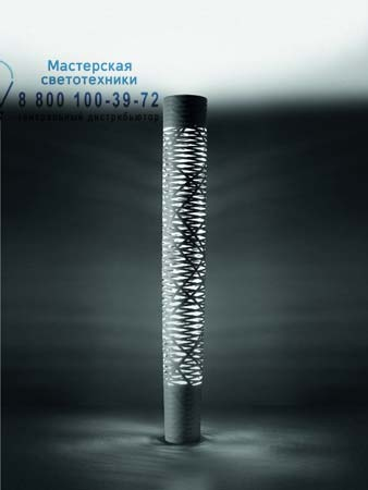 Foscarini 182004 20 торшер TRESS средний черный светильник