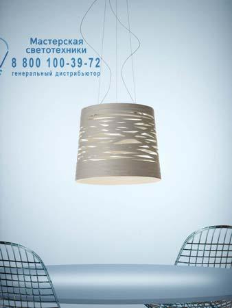 Foscarini 182007 10 подвесной светильник TRESS большой белый светильник