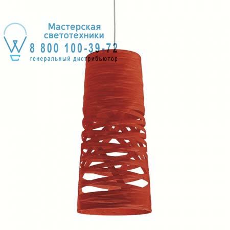 182027 63 Foscarini TRESS малый красный светильник