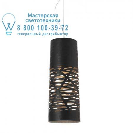 182037SP5 20 Foscarini TRESS черный мини светильник H. 5 m