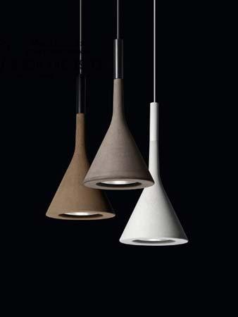 APLOMB коричневый, подвесной светильник Foscarini 195007 52
