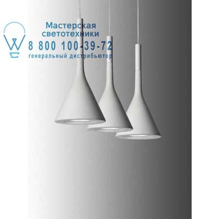Foscarini 195007SP5 10 подвесной светильник APLOMB белый H. 5 m