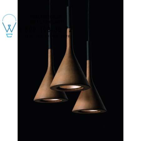 APLOMB коричневый H. 5 m, подвесной светильник Foscarini 195007SP5 52