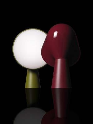 Foscarini 200001 40 настольная лампа BINIC зеленый