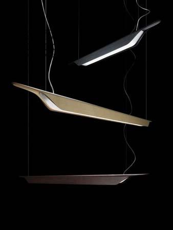 205007 52 Foscarini TROAG средний светильник коричневого цвета