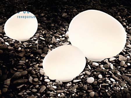 Foscarini 218023 10 уличный светильник GREGG OUTDOOR средний белый светильник