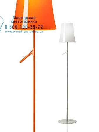 Foscarini 221004 53 торшер BIRDIE оранжевый
