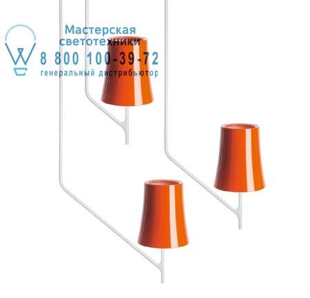 Foscarini 2210081 53 потолочный светильник BIRDIE 1 Оранжевый