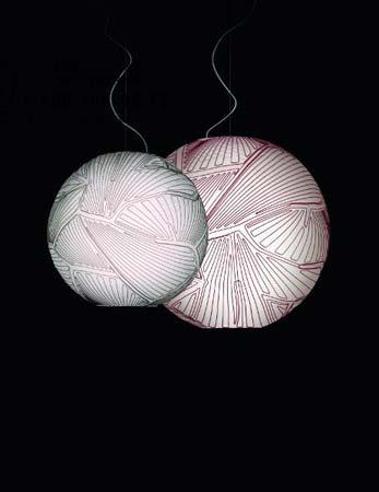 Foscarini PLANET малый красный светильник (halogen) 223007 63