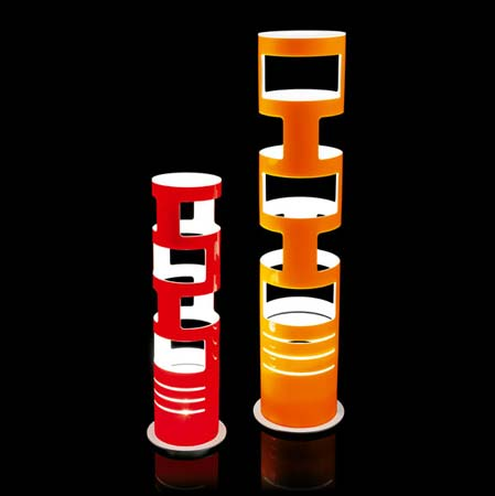 Kundalini 034683AREU настольная лампа SAMA S оранжевый