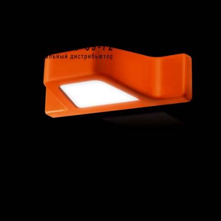 DOX оранжеывый уличный светильник, бра Kundalini K1286IPAREU