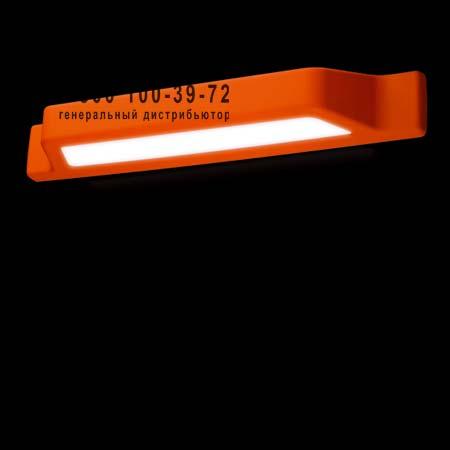 Kundalini K1287IPAREU бра DOX L оранжевый уличный светильник