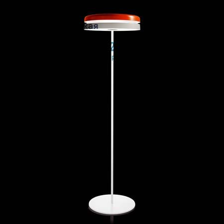 Kundalini K955BAEU TORIC напольный оранжево-белый светильник
