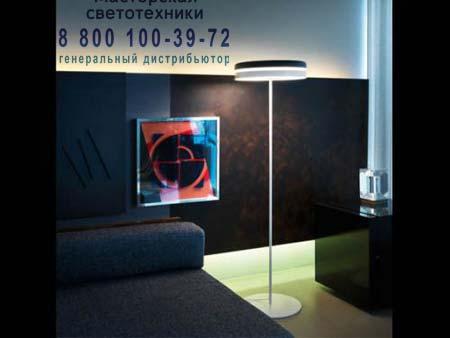 Kundalini TORIC напольный черно-белый светильник K955BNEU