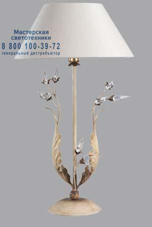 576 со стеклянными листьями, настольная лампа Lucienne Monique 576