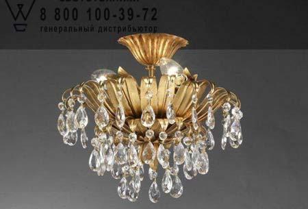 671 с прозрачными кристаллами, потолочная люстра Lucienne Monique 671