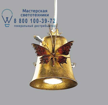 GM 13/G с бабочками и кристаллами сваровски, люстра Lucienne Monique GM 13/G