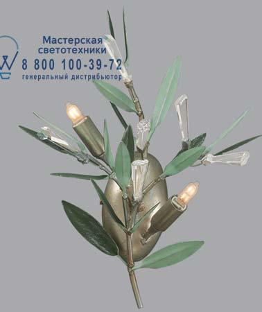 Lucienne Monique NO 94 NO 94 с листьями и кристаллами сваровски