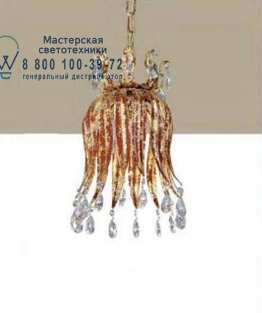 W 24 со стеклянными кристаллами, потолочная люстра Lucienne Monique W 24 crystals