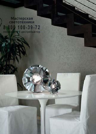 Floral C 1322.20 хром, настольная лампа Panzeri C 1322.20