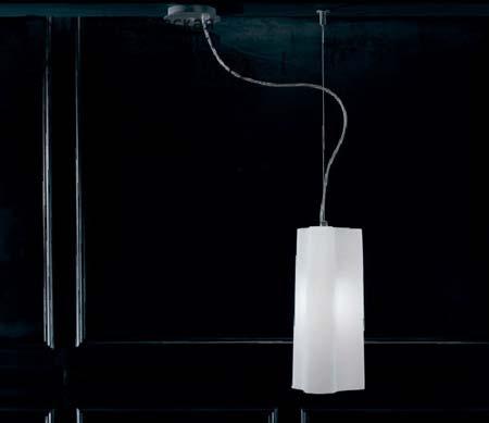 ALVI L 8533 серо-белый, подвесной светильник Panzeri L 8533
