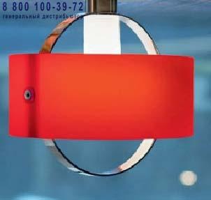 Ring P 1122.16 красный, потолочный светильник Panzeri P 1122.16 RED