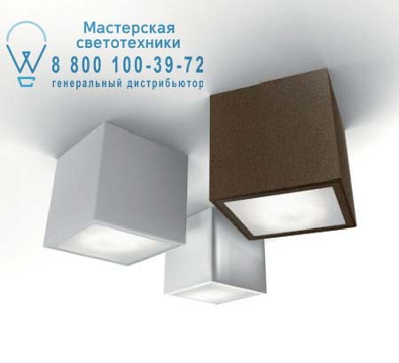 Panzeri P 3901 LED потолочный светильник Three P 3901 LED белый