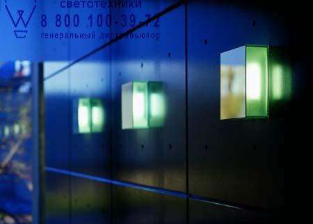ARGENTUM ECO W4 зеркальный/пескоструйная обработка стекла, бра Prandina 1025000210007