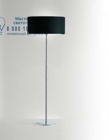 Prandina 1082000410205 торшер CPL F7 опаловое черное стекло/никель